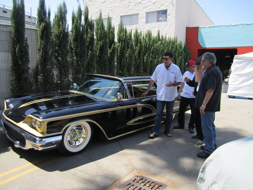 1958 Thunderbird Mexican Blackbird Carcast
