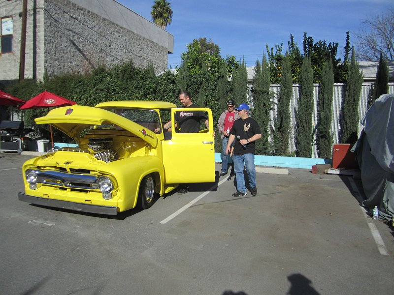Bodie Stroud\'s Supercharged 1956 Ford F100