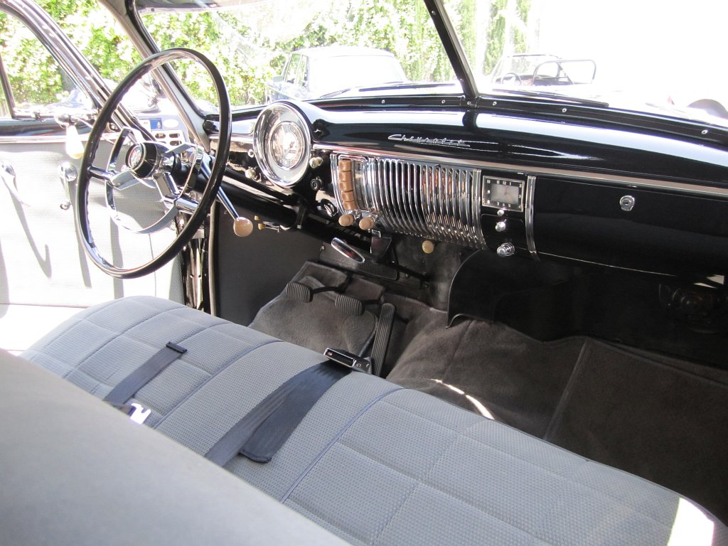 1949 Chevrolet Deluxe Carcast Chevy Steering Wheel Cletos
