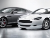 Aston DB9 in both tops