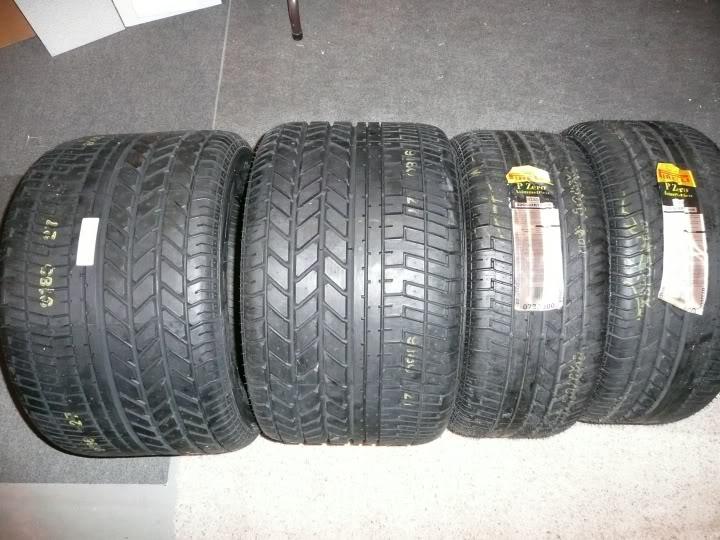 Lamborghini countach tire size