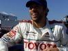 Zach Levi at the Toyota Long Beach Celebrity Race
