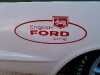 Ford Logo from a Cortina