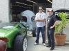 ACE and Ganz at the entrance to Foose\'s Shop