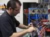 Mike adjusting the valves
