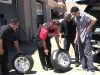 Mark, Sandy, Adam at America\'s Tire