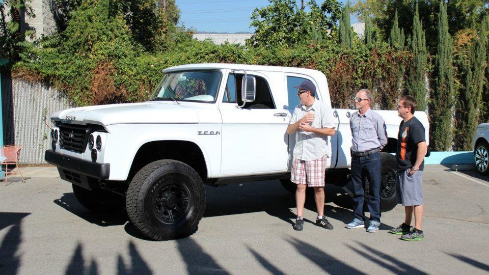 Jonathan Ward & Icon Dodge D200 | CarCast