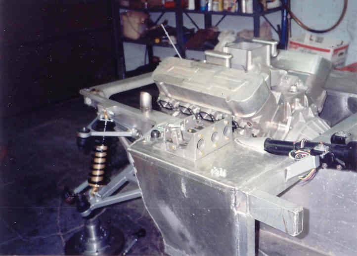 Cobra Chassis and Engine - Under Construction